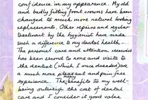 Patient testimonial letters and emails / A selection of 'thank you' letters and emails received from patients who have undergone treatment at Elliott McCarthy Dental Care