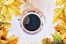 чашки чая и кофе