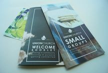 Church welcome booklet