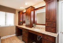 Award Winning Bathroom / Builders Association of Metropolitan Pittsburgh choose this bathroom for 2013 Best Bathroom Renovation Project under $50,000.
