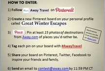 Great Winter Escapes / Where I want to go next winter