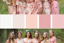 Nude Themed Wedding / Neutral and Nude Wedding Color Scheme - Some inspirations for Nude Wedding Palette - Romantic Color Pairings combining Ivory, Champagne, Blush, Cream, Beige, Tan, Soft Peach, Rose Pink, Gold and Taupe