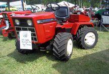 Garden tractor custom