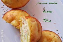Ricette - Muffin (pesce) + ravioli + ripieni