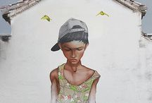 STREET ART ANIMETED