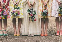 Going To The Chapel // Bridesmaid Attire / by Dana Berry