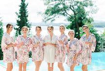 Girlfriends of the bride