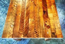 Custom Furniture / The Salvage Works wood shop creates heirloom custom furniture from our reclaimed lumber and live-edge slabs.  We are open to the public 7 days a week.  2024 N. Argyle Portland, Oregon 97217.