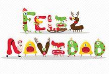FOR CHRISTMAS / THINGS FOR CHRISTMAS!....que está a la vuelta de la esquina!!!