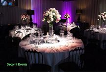 Floral Centerpiece Arrangements / Decor It Events floral centerpieces are designed with seasonal florals floral stands, candlesticks, vases, crystal and candelabra