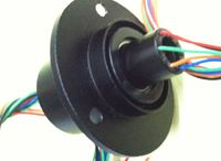 Capsule With Through Hole Slip Ring