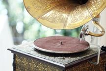 Technology VI - music box, gramophone,
