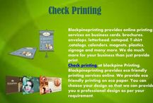 Check Printing