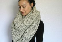 Knitted Scarves / Knit me a scarf with great love.