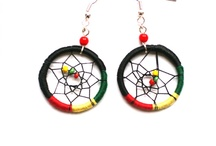 Dream Catcher earrings and bracelets