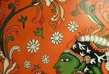 Murals & Madhubani