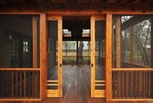 Screen doors and porches