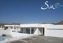 Villa Lazydays #36 Puerto Calero - Lanzarote - Spain / This attractive, single storey, three bedroom villa is located in the exclusive marina of Puerto Calero. It is within a short walk of the promenade of international restaurants, bars, cafes and designer shops. The resort of Puerto del Carmen is only a five minute drive away with its picturesque Old Town and harbour and miles of golden beaches. The villa benefits from WiFi internet connection and a gated pool for families with small children.