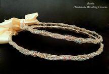 Handmade Wedding Crowns 3. Greek Crowns. Orthodox Crowns.