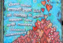 art journaling i love