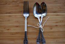 Silver cutlery // Ezüst evőeszközök