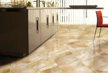 Modern Marble Look Tile / The durability of Porcelain with the look of Marble.