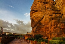 Badami town - Bagalkot district - Karnataka state - India country - Asia continent / Places to visit in the mentioned place..  Do drop by and check out all my boards :)..