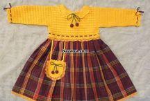Çocuk elbisesi ve hırkaları