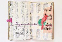 Get Messy - An Art Journal - Inspiration