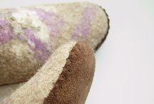 semelle cuir pour chaussure feutree