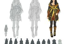 Fantasy Designes Inspiration / Useful fantasy concepts and costumes