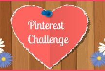 Pinterest Challenge! / The focus of this board is to motivate my interaction with followers on Pinterest.