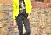 "Fashion&Style: Neon / by ""Outfit Ideas, by Chicisimo"" Fashion iPhone App"