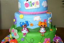 Lalaloopsy cakes, cookies and cupcakes