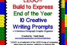 LEGO Writing