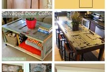 Upcycled Doors / What that heck do I do with this old door?