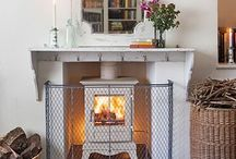 Fireplace Safety / Our new hand-woven traditional metal wirework fireguards, modelled on classic British Victorian nursery guards, offer rigid protection for wood burning stoves as well as open fires.  Enjoy those cosy log fires and keep all members of the family safe!