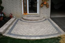 Undermount Lighting / Precision Corporation installs a variety of styles of undermount lighting to complete the look of any landscape of hardscape design project.