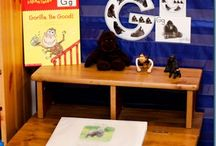 Letter Gg is for Gorilla, and... / Printable pages and activities for learning the letter G.