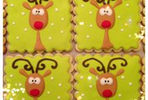 Christmas cookie designs.