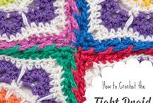 Crochet joins.