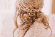 Bridal shower hair