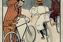 Cycling. The beginning. 1900