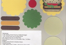 2016 stampin up Food cards