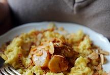 pâtes et riz
