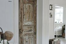 oude deuren & wandpanelen