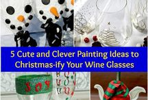Kerst spullen maken