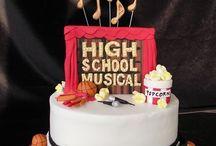 High School Musical / High School musical themed birthday party ideas & cakes