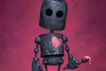Ретро футуризм и роботы