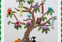 Brazillian Dimential Embroidery